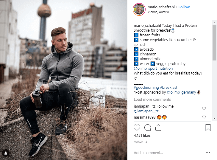 Mario Schafzahl fitness influencers