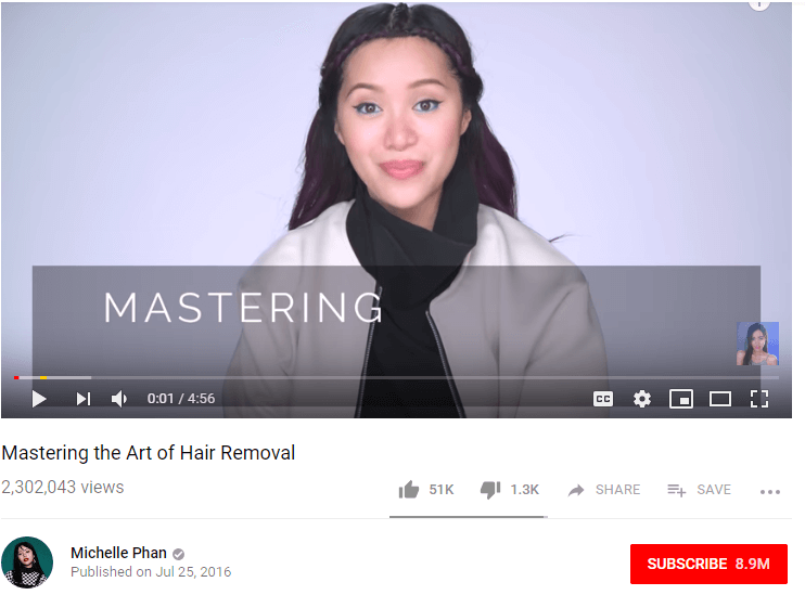 Michelle Phan Female YouTubers