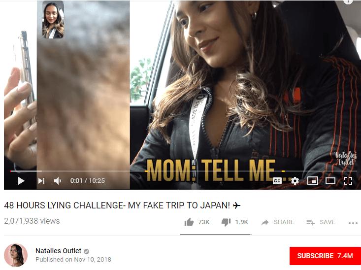 Natalie Alzate Female YouTubers
