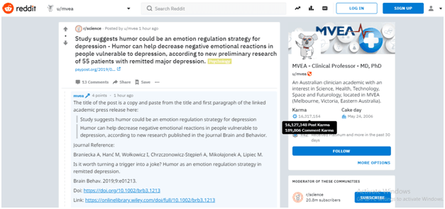 Real Profile Reddit Marketing