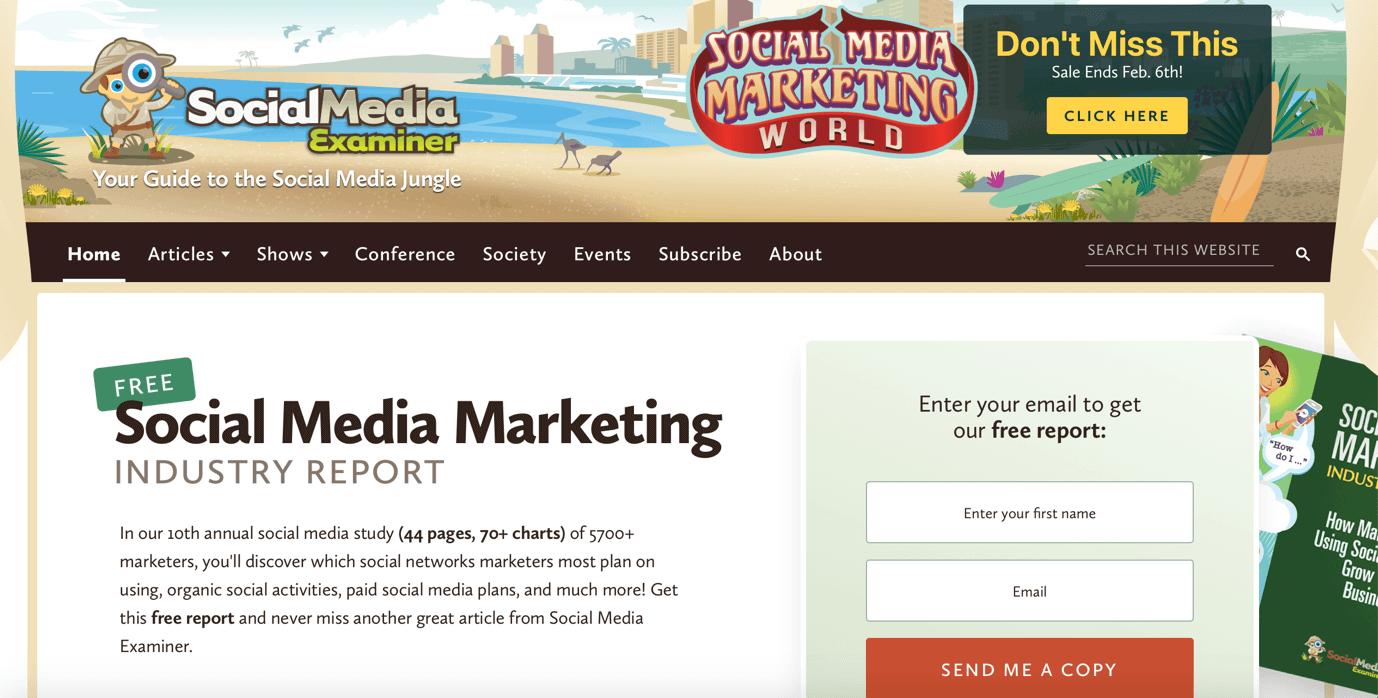 Social Media Examiner Social Media Blogs