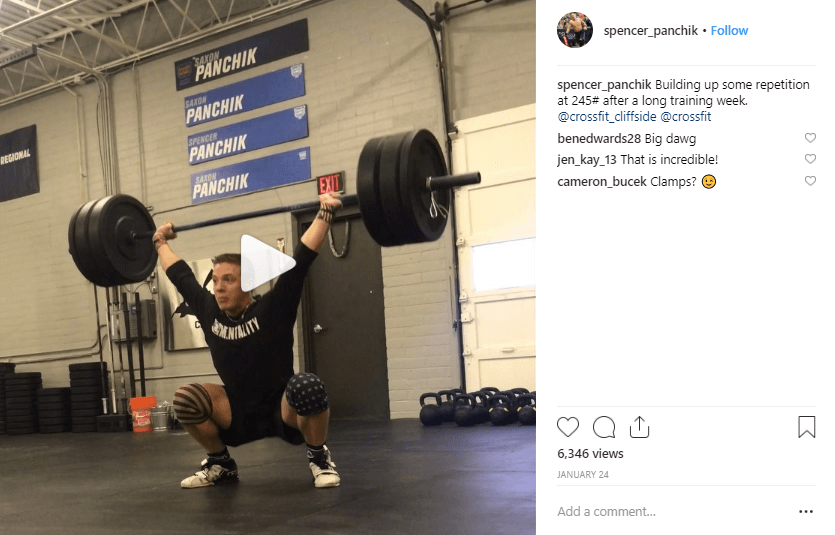 Spencer Panchik fitness influencers