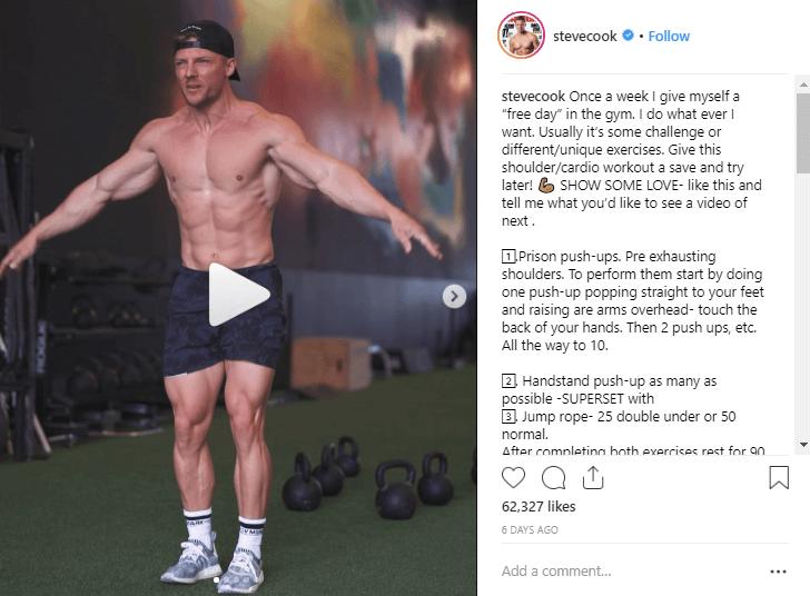 Steve Cook fitness influencers