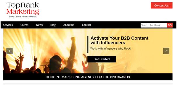 TopRank Marketing Influencer Marketing Agencies