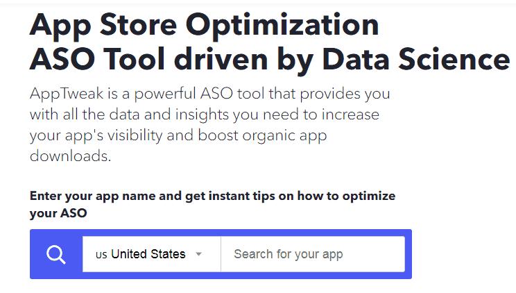 AppTweak Mobile App Marketing Tool