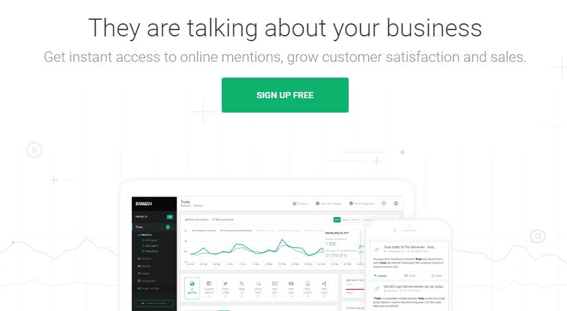 Brand24 Social Media Monitoring Tool