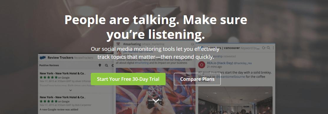 Hootsuite Social Media Monitoring Tool