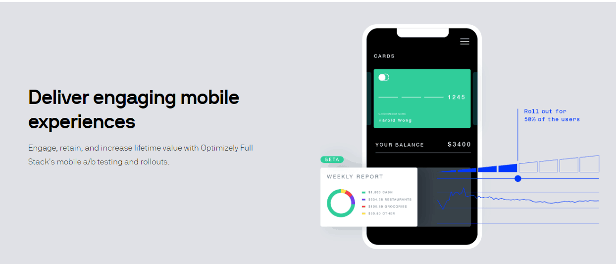 Optimizely Mobile App Marketing Tool