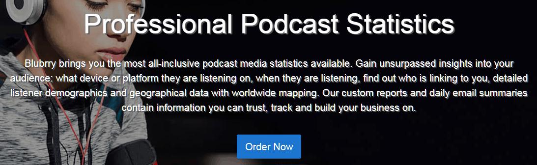 Blubrry Podcast Analytics Tools