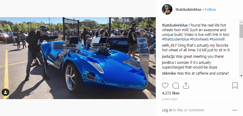 David Patterson Instagram Automotive Influencer