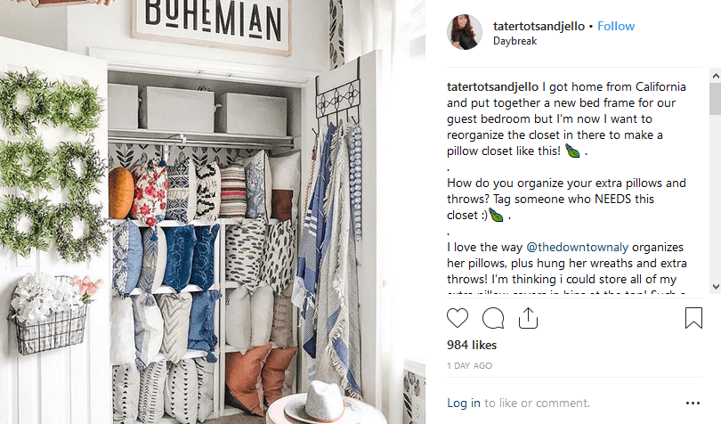 Jennifer Hadfield Instagram DIY Influencer