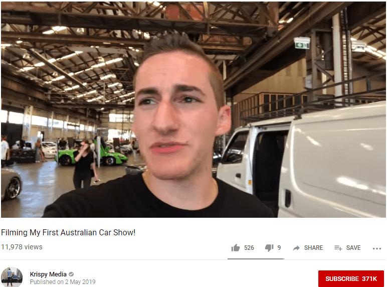 Krispy Automotive Influencer