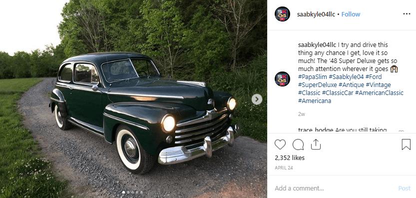 Kyle Lindsey Instagram Automotive Influencer