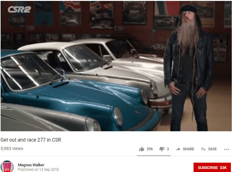 Magnus Walker Automotive Influencer