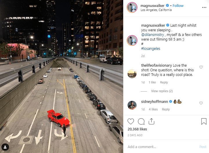 Magnus Walker Instagram Automotive Influencer