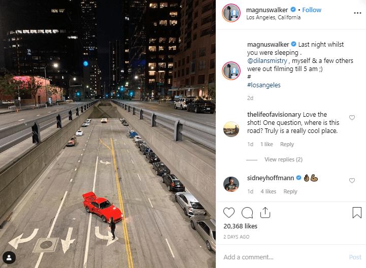 Magnus Walker Instagram Automotive Influencer