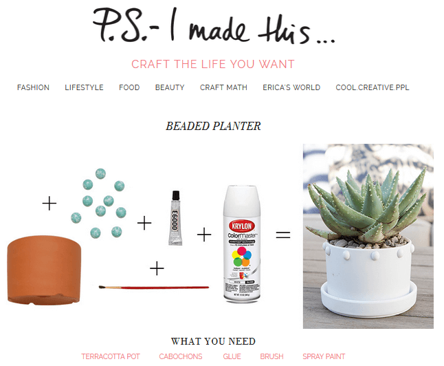 PSimadethis DIY Influencer