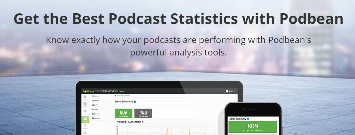 Podbean Podcast Analytics Tools