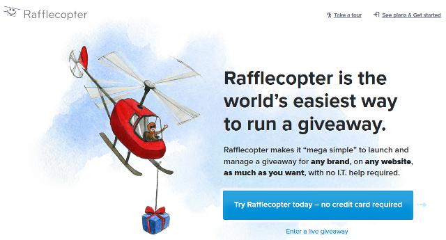 Rafflecopter Social Media Giveaways