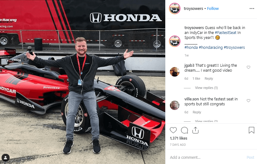 Troy Sowers Instagram Automotive Influencer