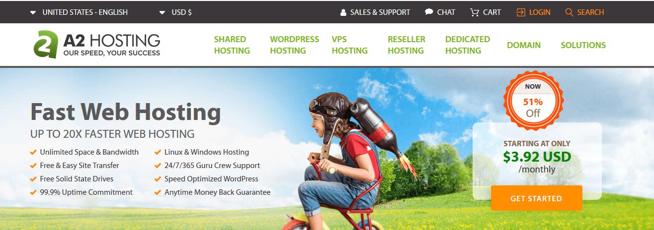 A2 Hosting Web Hosting Company