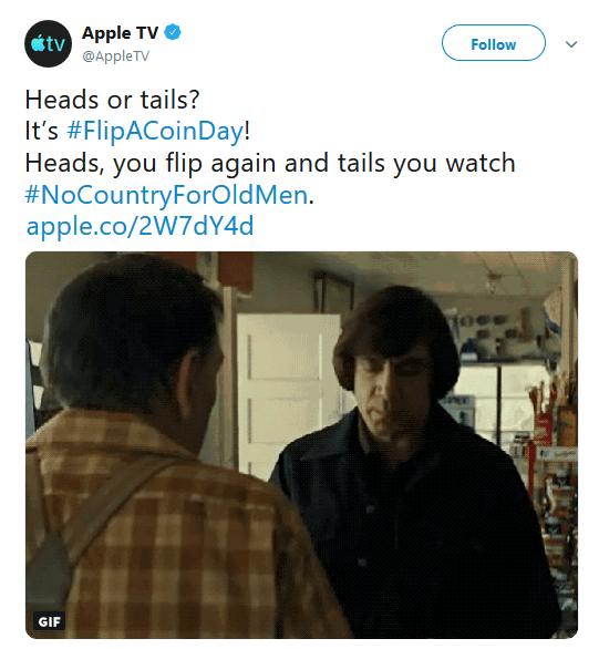 AppleTV Twitter Marketing with Memes