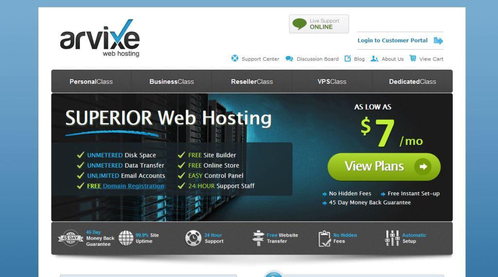 Arvixe-Web-Hosting-Company