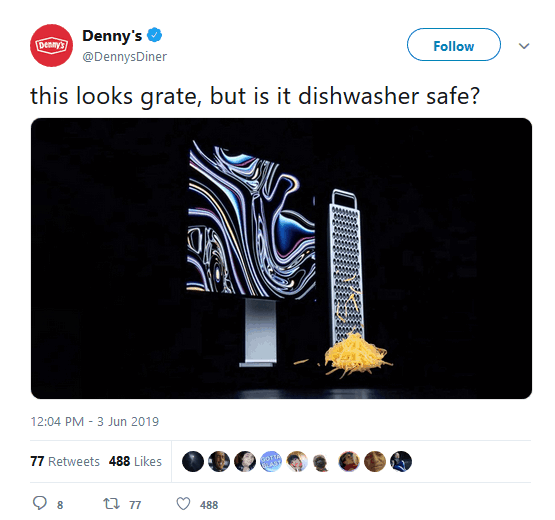 Denny's Twitter Marketing with Memes