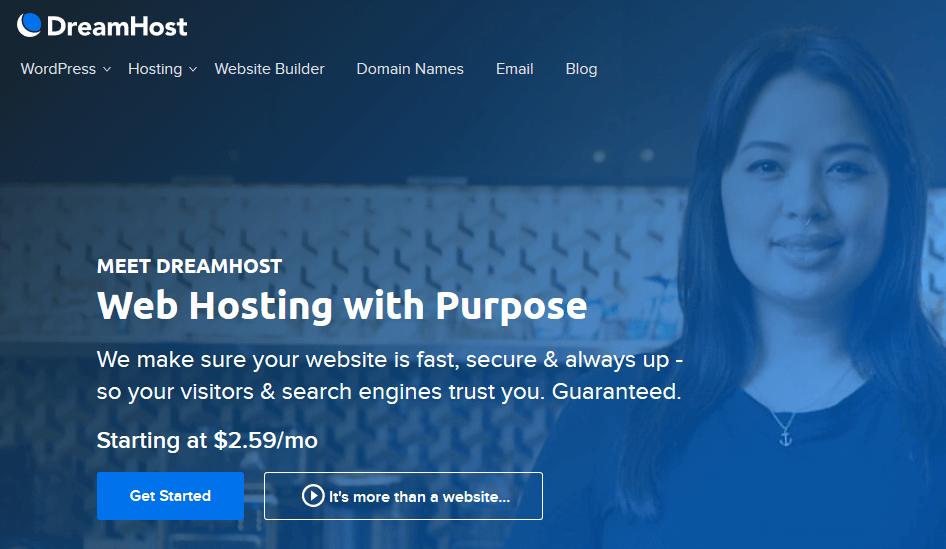 DreaHost Web Hosting Company