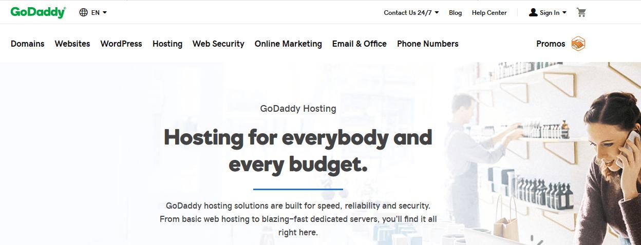GoDaddy Web Hosting Company