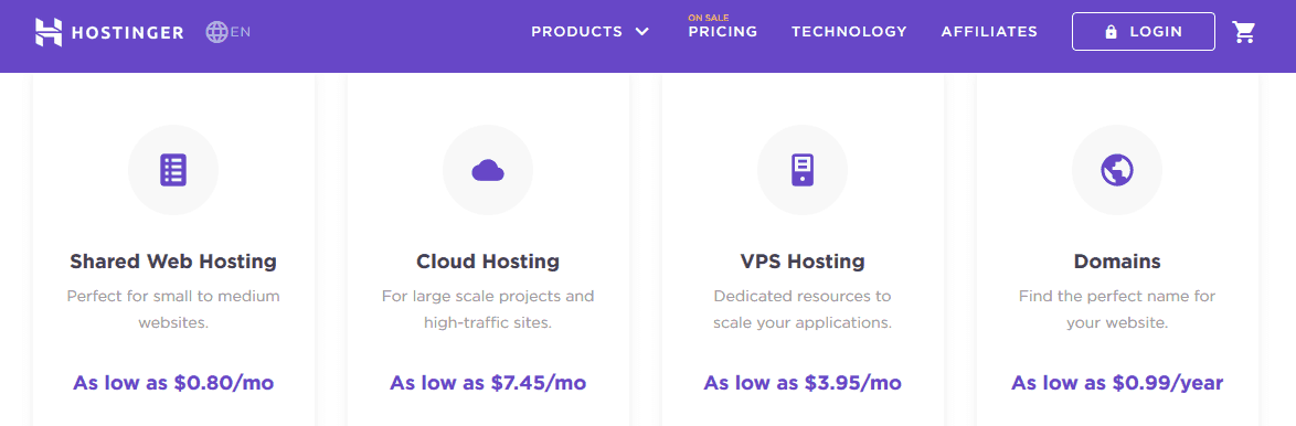 Hostinger Web Hosting Company