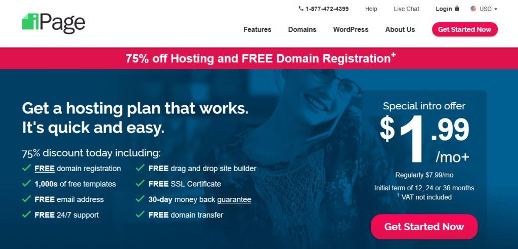 Ipage-Web-Hosting-Company