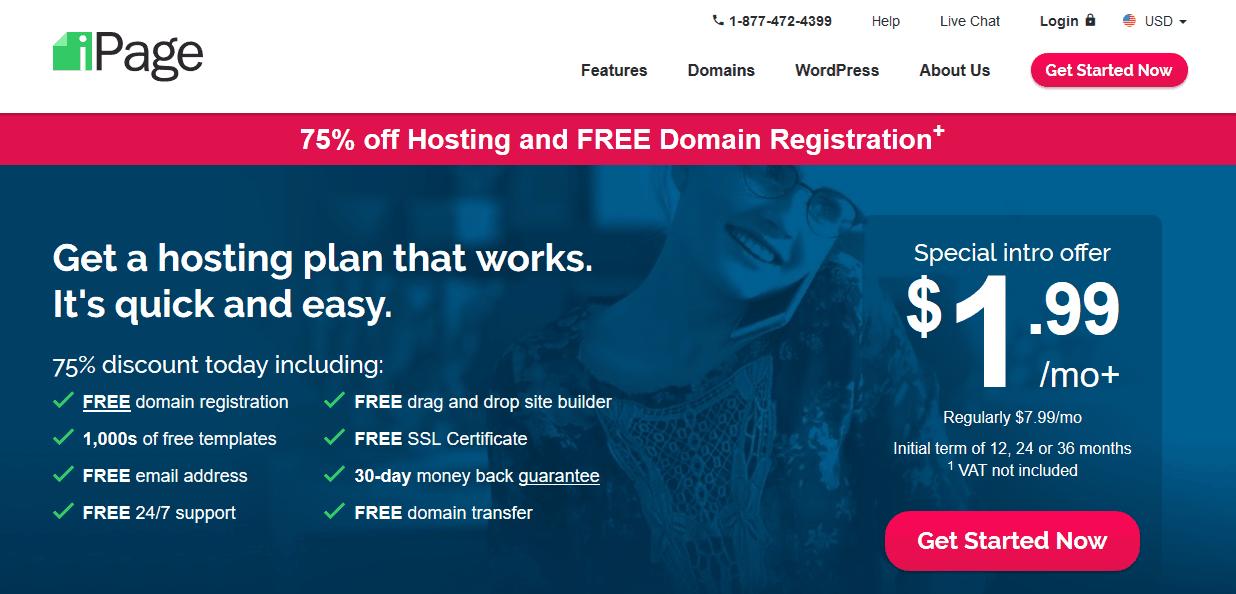 Ipage Web Hosting Company
