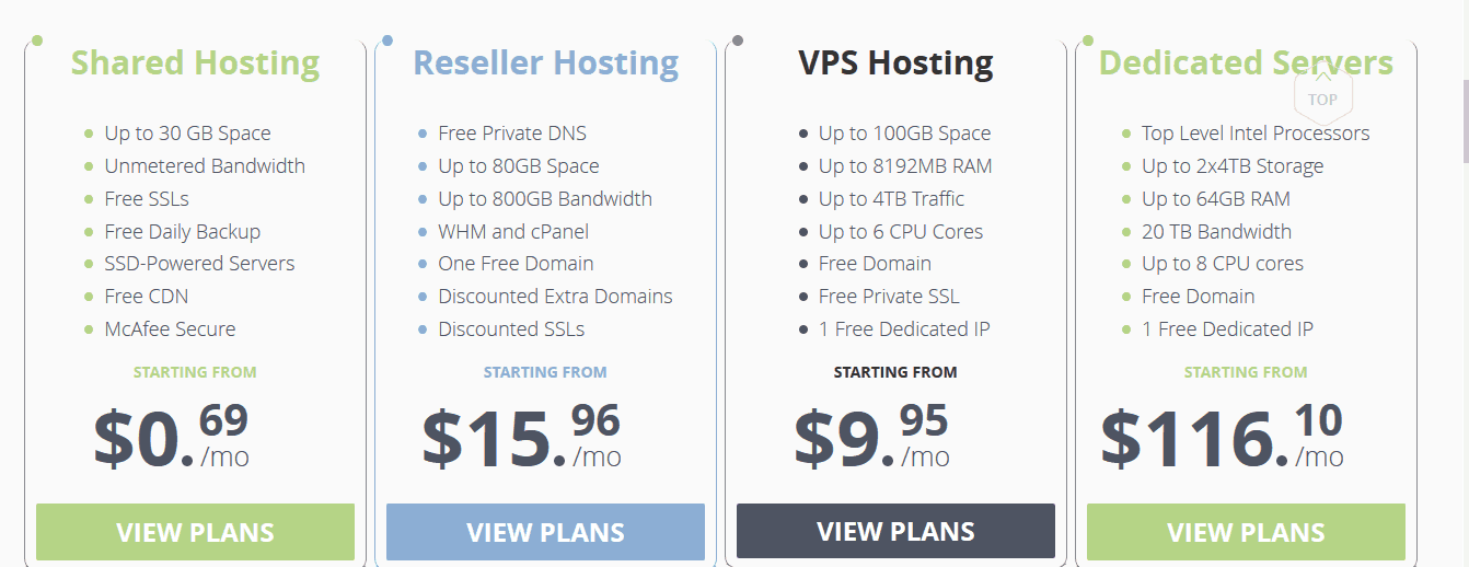WebHostFace Web Hosting Company