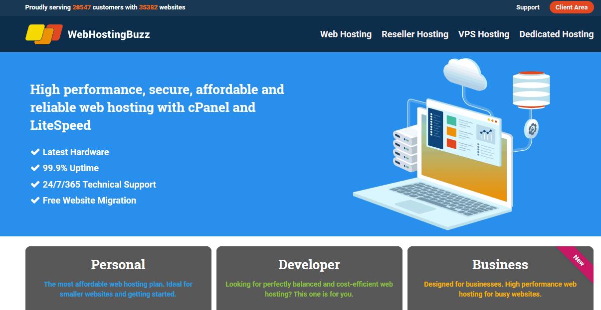 WebHostingBuzz Web Hosting Company