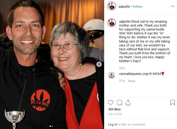 Aaron Justis Instagram Cannabis influencers