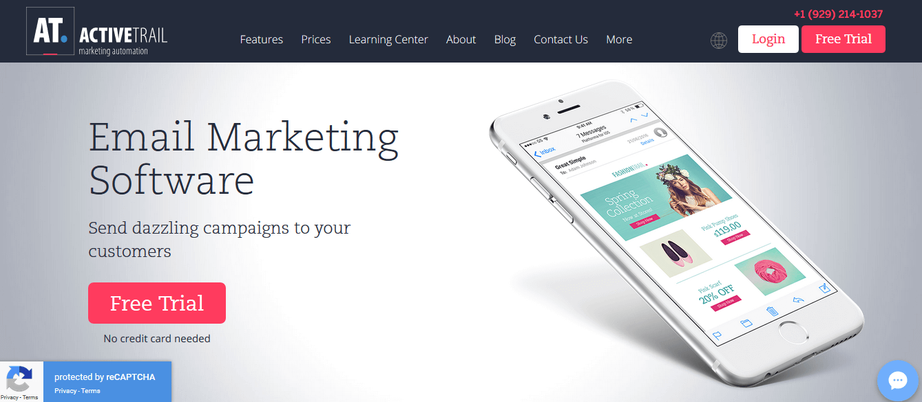 ActiveTrail Email Marketing Automation