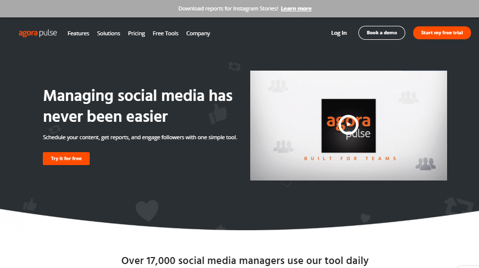 Agorapulse Social Media Management Tools