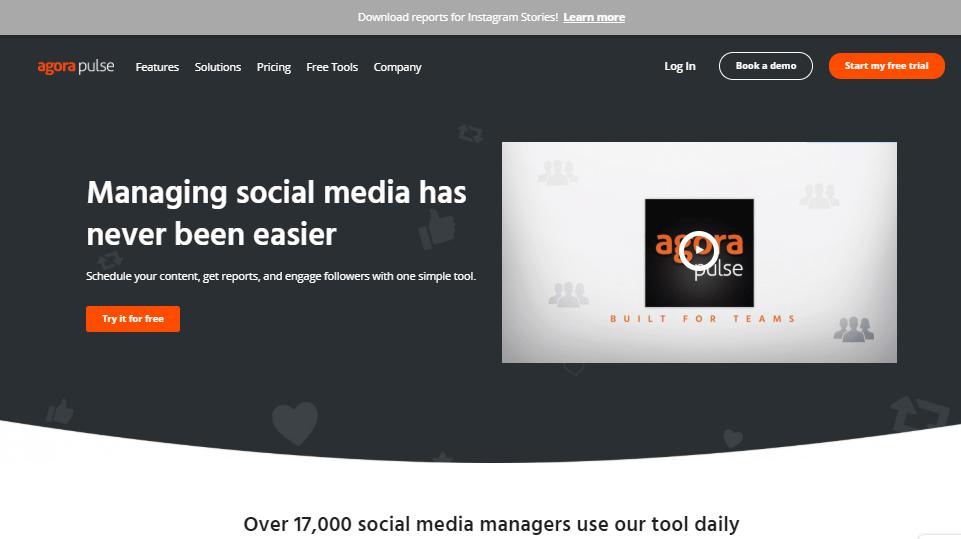 Agorapulse Social Media Management Tools