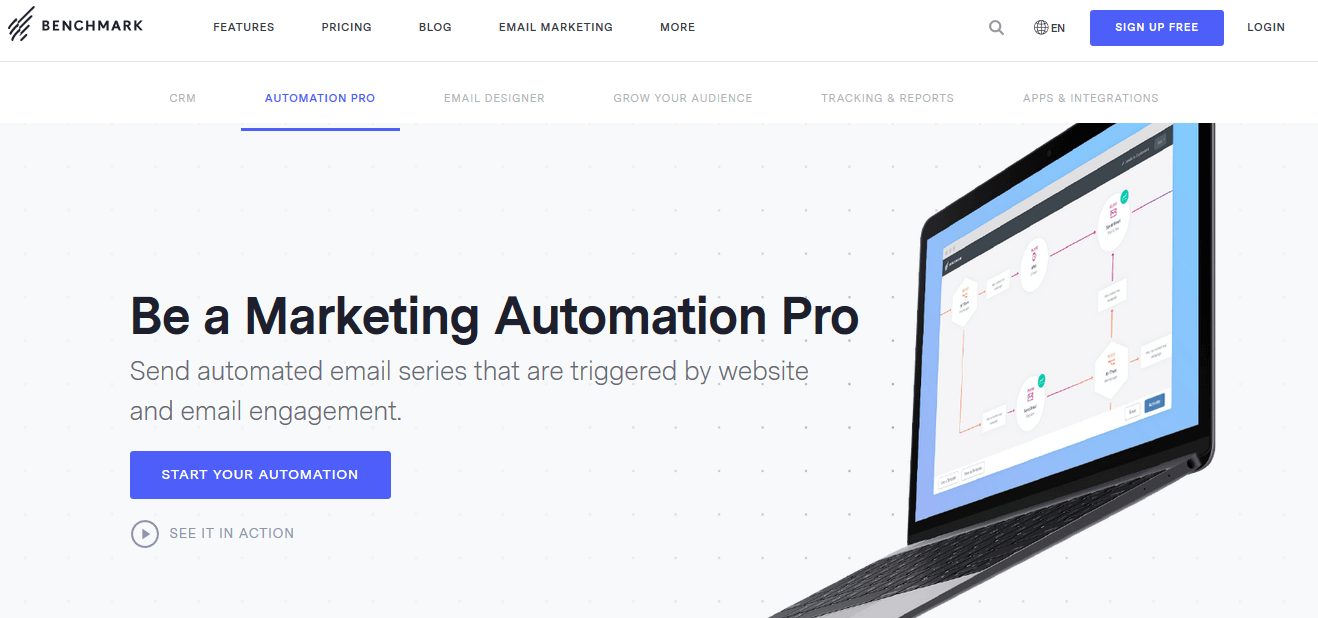 BenchmarkEmail Email Marketing Automation