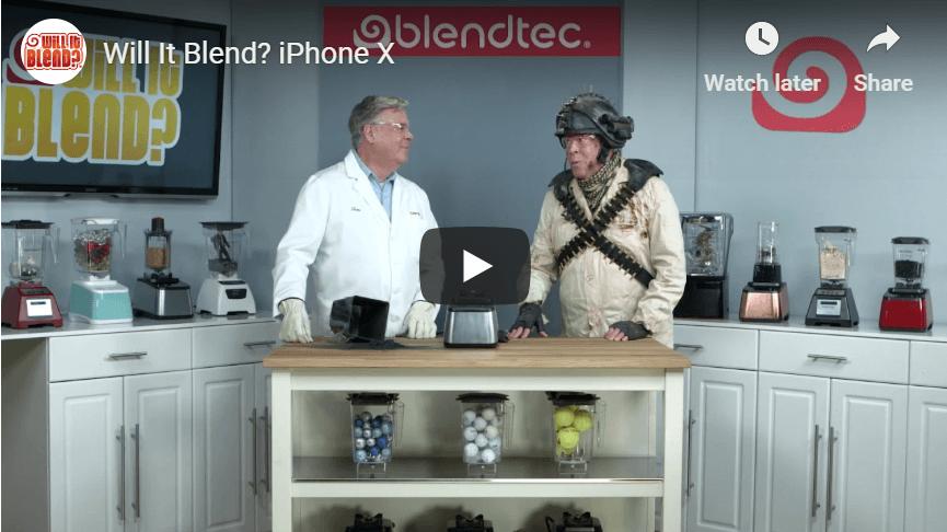 Blendtec Content Marketing Examples