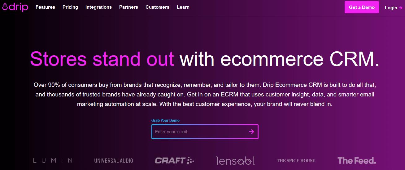 Drip Sendinblue Ontraport Email Marketing Automation