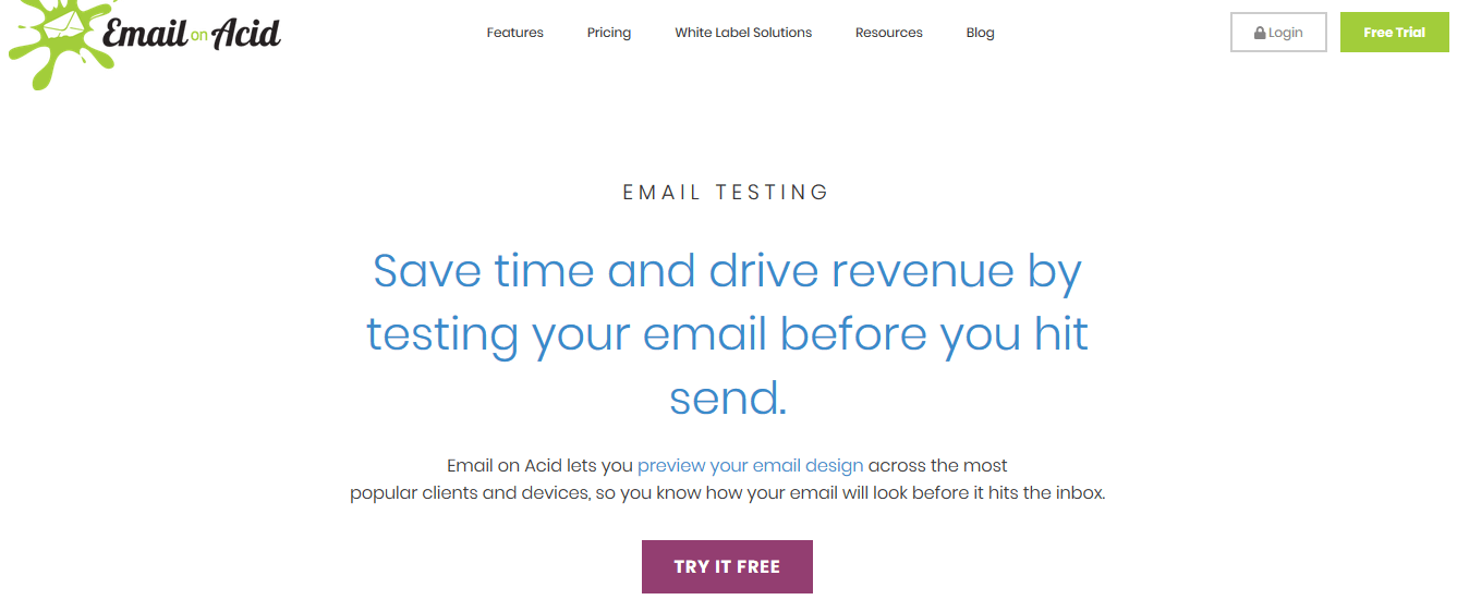 Email on Acid Email Marketing Automation