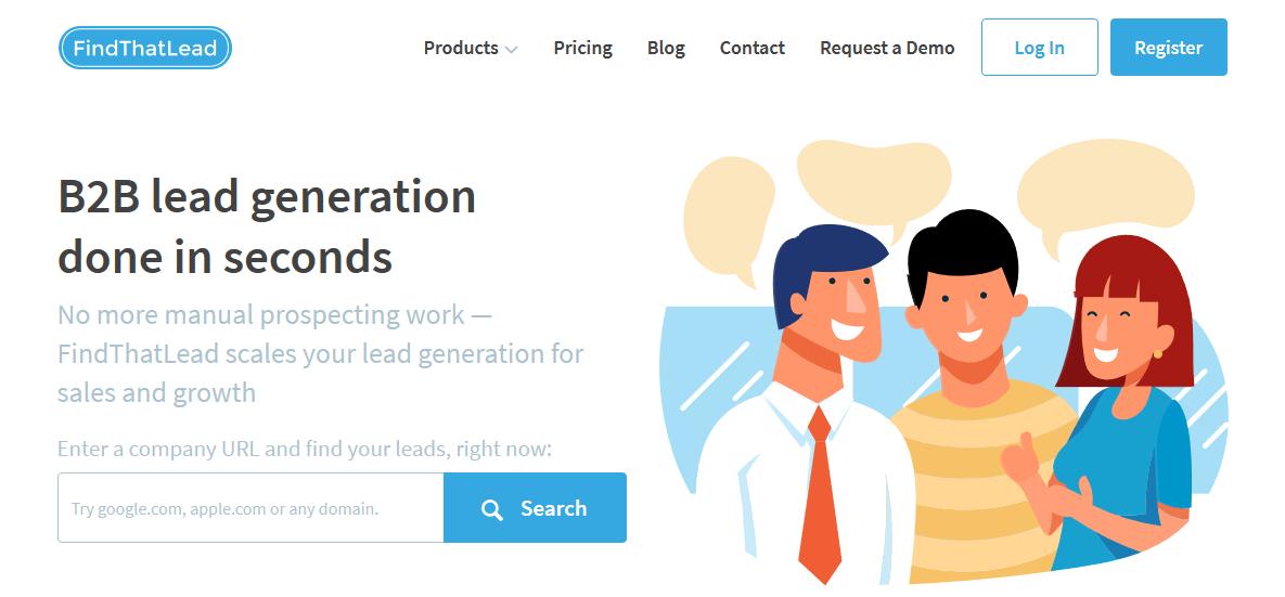 FindThatLead Lead Generation Software
