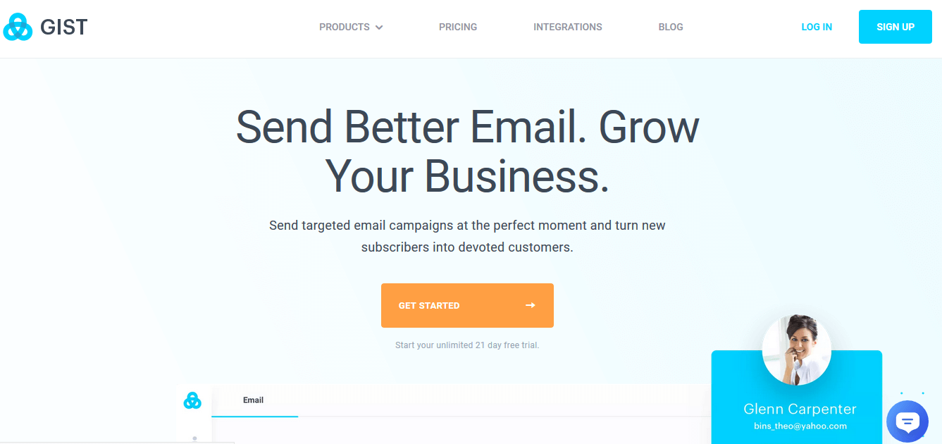 GIST Email Marketing Automation
