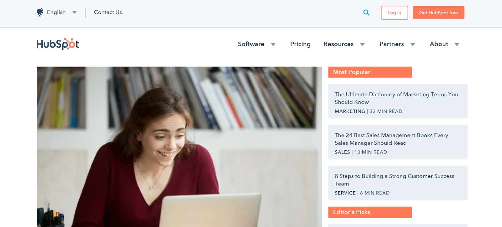 HubSpot Content Marketing Examples