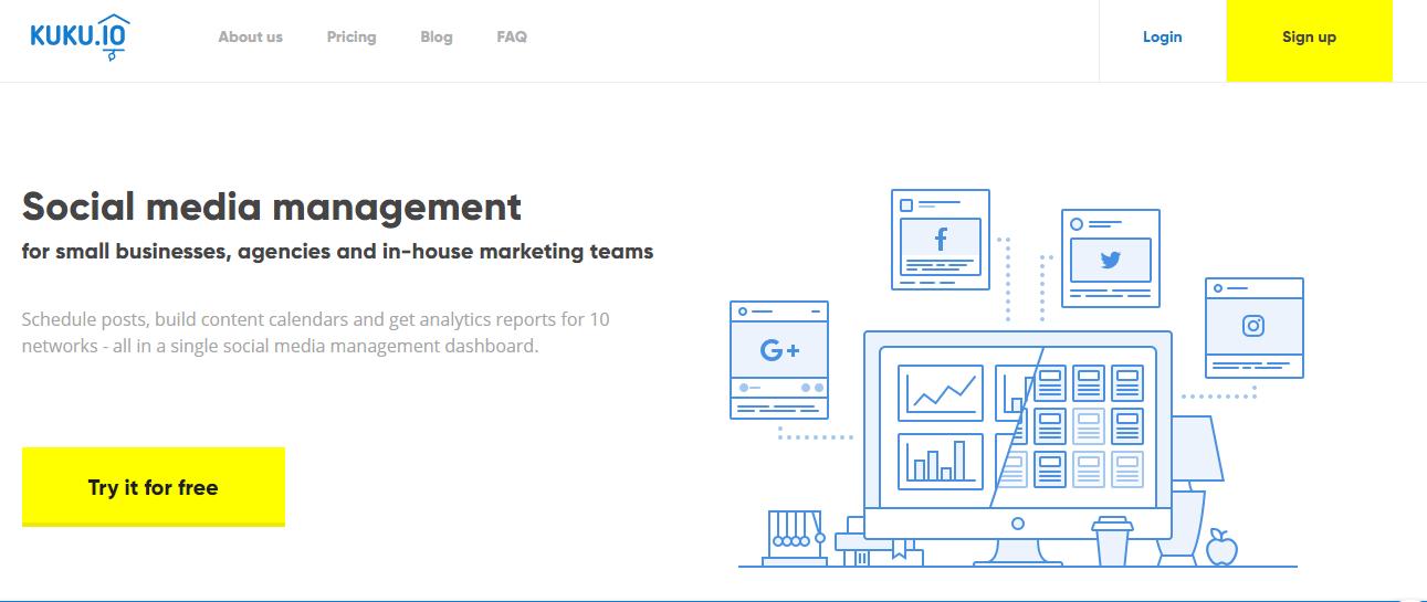 KUKU.Io Social Media Management Tools