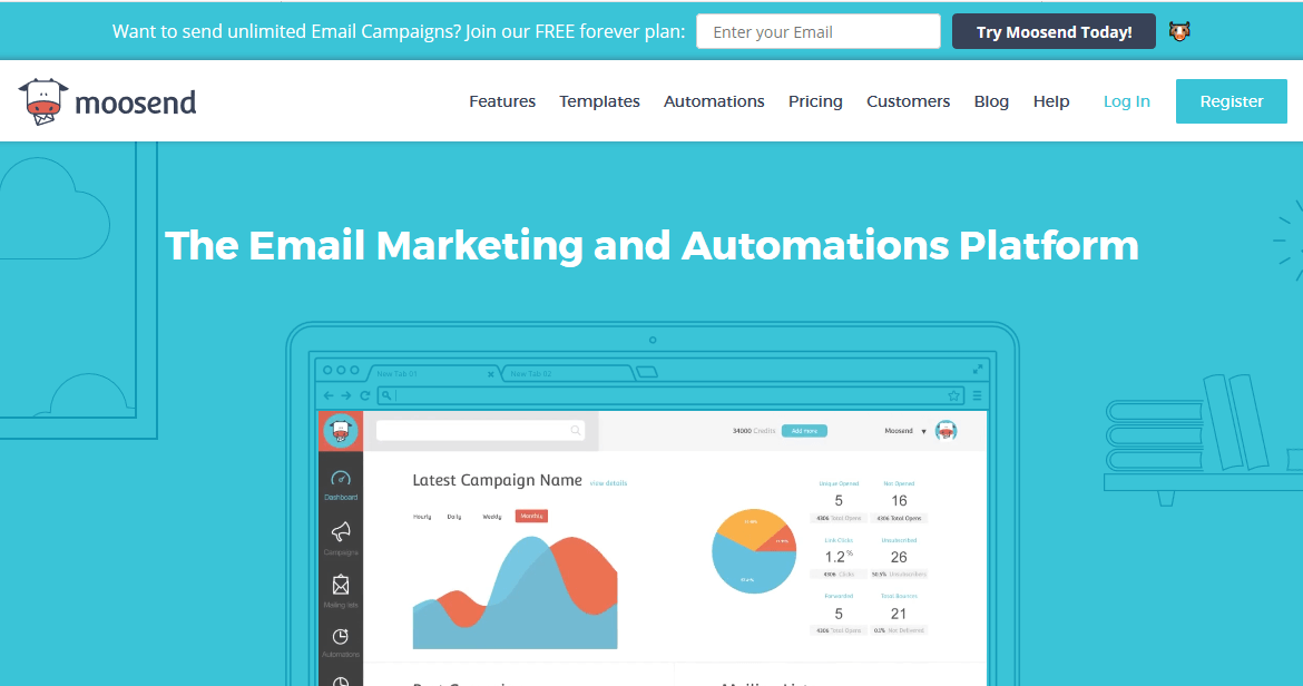 Moosend Email Marketing Automation