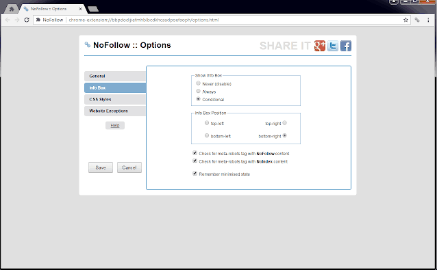 NoFollow SEO Chrome Extensions