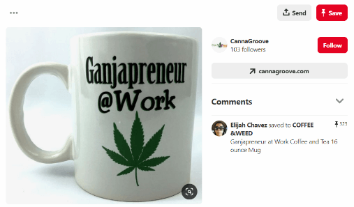 Pinterest Marijuana Marketing Tactics